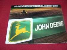 John Deere Agricultural Equipment Long Green Line Buyers Guide for 1991