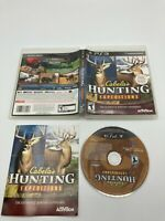 Sony PlayStation 3 PS3 Tested CIB Complete Cabela's Hunting Expedition Ships Fas