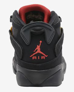 🔥NWB Air Jordan 6 Rings Black/University Red/Dark Sulfur 🔥Rare