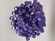1x1 Soft Glas Metallic lila Mosaik 1000g 1071 Stk 3443