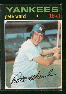 PETE WARD 1971 TOPPS NO 667 VGEX 28606