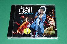 """CD FRANCE GALL """"SIMPLE JE, REBRANCHEE A BERCY 93"""" EN PUBLIC / 1994, TB ETAT"""