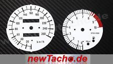 BMW R1100S voll Kunststoff Tachoscheiben Tacho R 1100 S Gauge dial plates Set