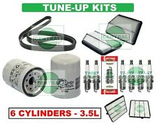 TUNE UP KITS 03-08 ACURA MDX HONDA PILOT (V6 -3.5L): SPARK PLUGS BELT & FILTERS