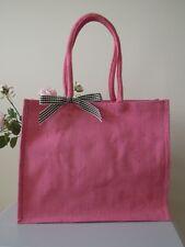 Handmade East of India Mother's Day Jute Gift Bag Shopper Mum Birthday Sister