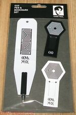 EXO OVERDOSE EXO-K CHANYEOL PEN & BOOKMARK SET SM LOTTE POP UP STORE GOODS NEW