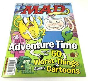Mad Magazine April 2013 #520 Adventure Time Cartoon Honey Boo Boo Planet Tad