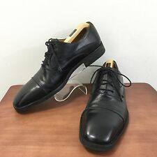 "Mezlan ""Tavira"" Men's Cap Toe Black Leather Oxford Shoe Made In Spain  10"