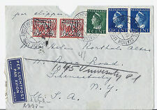1941 Netherlands Amsterdam Central Station, Airmail - Cologne Railway w/ Censor*