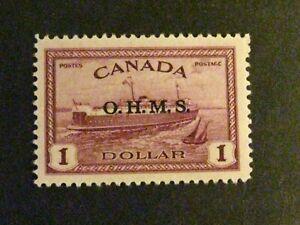 Canada #O10 mint hinged  a1910.9738