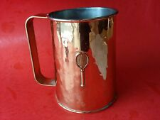 Vintage COLONY OF METALSMITHS DENBIGH VIRGINIA TENNIS MUG CUP COPPER FINISHED