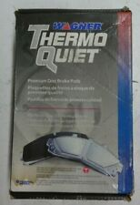 NEW WAGNER THERMO QUIET FRONT BRAKE PADS PD409 / D409 FITS VEHICLES ON CHART