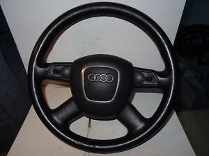 AUDI A6 4F MULTIFUNCTION STEERING WHEEL AND AIRBAG