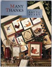 Many Thanks: Art To Heart ~ Nancy Halvorsen PB