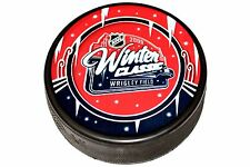 2009 NHL Winter Classic Souvenir Style Collectible Puck Held In Chicago