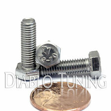 5mm / M5 x 16mm - Qty 10 - Stainless Steel HEX CAP BOLT / Screw 0.80 DIN 933 A2