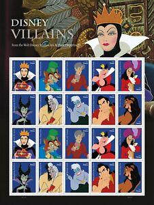 Disney Villains Forever Stamps from the Walt Disney Studio's Ink & Paint Dept
