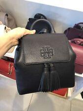 NWT!TORY BURCH Leather THEA MINI Backpack 55367 Black $450