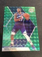 Royce O'Neale 2019-20 Panini Mosaic Green Prizm Parallel #53 Utah Jazz