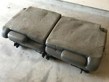 03-06 Chevy Tahoe GMC Yukon Third 3rd Row Seats Gray Grey Leather 00 01 02 NR