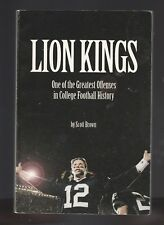 Lion Kings: Great College Football Offense~Penn State by Scott Brown, Signed PB