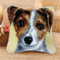 DIY Dog PillowCase Latch Hook Rug Making kits for Boys Girls Embroidery