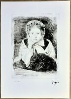 Edgar Degas - Fotolitografia originale ed. limitata numerata