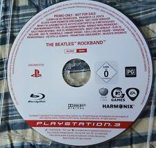 Beatles Rock Band PROMO ps3 game 🐒 Rare.History! Collectors BEATLES MEMORABILIA