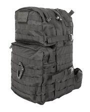 Black Medium Ruck Sack Bergen 40 litre Army Patrol Pack Day Sack 40lt