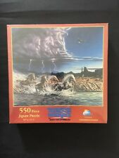 Thundering Hooves Jigsaw Puzzle By John  Straalin New Sealed Sunsout