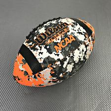 Wilson Ncaa Field Ops American Football Wtf1435 Orange/ Black/ Silver #Mp1237