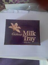 More details for vintage sealed cadbury's milk tray 1980's chocolate box mars bar era
