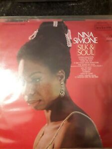 NINA SIMONE - SILK AND SOUL LP VG/VG