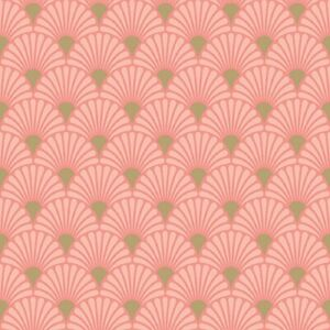 20 Paper Party Napkins Art Deco Rose Gold Pink Pack of 20 3 Ply Serviettes