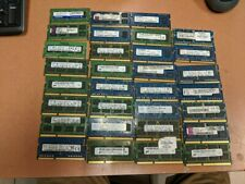 30 sticks 2GB laptop DDR3 PC3 all used
