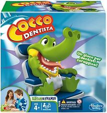 COCCO DENTISTA gioco da tavola crocodile dentist B0408103 Hasbro nuovo Italia