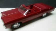 Vintage Burgundy 1969 Impala SS Convertible Promo Car Very Nice Condition No Res