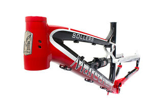Marechal Sollers Full-Suspension All-Mountain/Enduro Bicycle Bike Frame Set Red