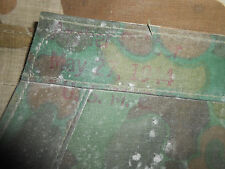 U.S.ARMY:- 1944 WWII U.S.MARINES,CAMOUFLAGE  PONCHO, SHELTER,OR TENT 1944