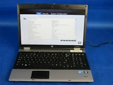 HP ProBook 6550b M370 i3 2.40GHz 4096MB RAM Laptop Notebook