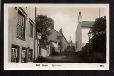 Worsley, Salford - Mill Brow - real photographic postcard