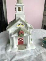"The Church Tea Light House Party Lite 10 1/2""  W Box GF3"