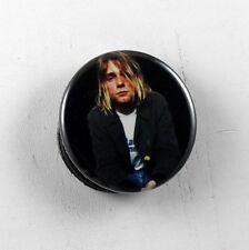 "KURT COBAIN Nirvana 1.25"" button pin pinback badge Buy 2 Get 1 Free"
