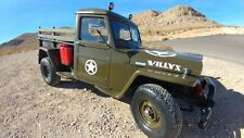 1948 Willys Jeep Restored Classic 4 Wheel Drive Pick up