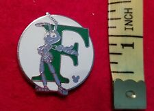 DISNEY PIN - ALPHABET LETTER F - Flic - Bugs Life - Hidden Mickey - USED