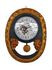 Wanduhr Küchenuhr Wand Uhr Quarzuhr Quarz Pendel Pendule Design NEU