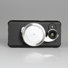 Ztylus Black Phone Case Cover for Samsung S7 Edge + Camera Lens Attachment Kit