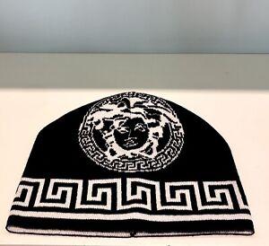 Versace Medusa Knit Hat