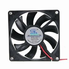 12V 2Pin DC Brushless 8cm 80x80x15mm 80mm Computer Industrial Cooling Case Fan