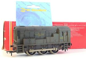 LIMA (DCC FITTED) BR GREEN DIESEL SHUNTER 3004 WEATHERED (LOOK)